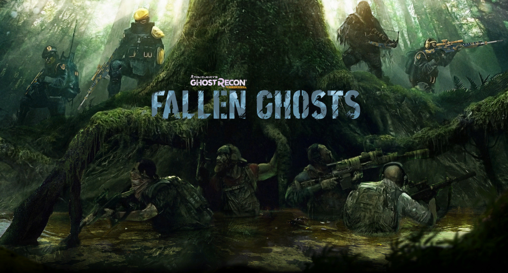 background - V Ghost Recon: Wildlands - Fallen Ghosts sa z lovcov stane korisť