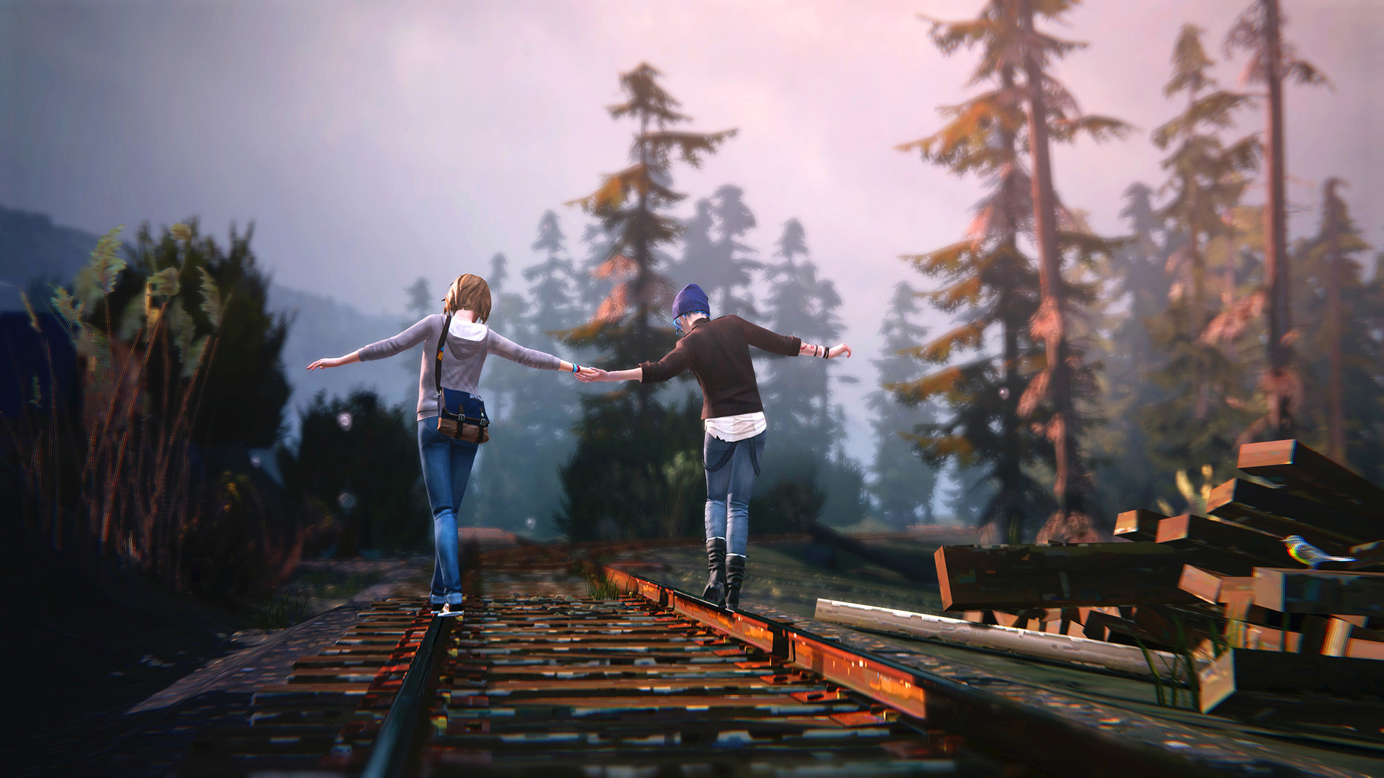 background - Pracuje se na novém Life is Strange