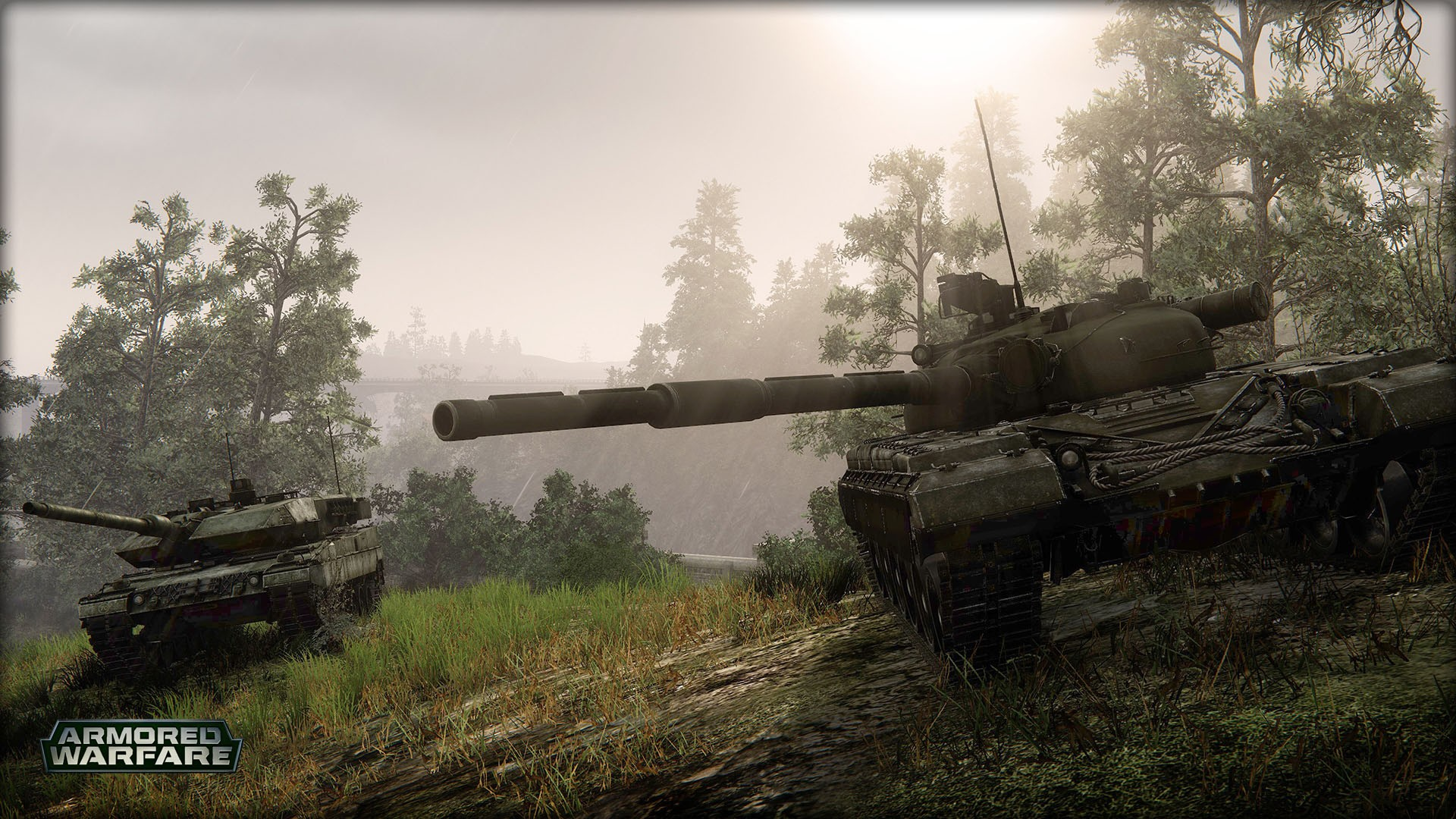 background - Aktuální stav Armored Warfare