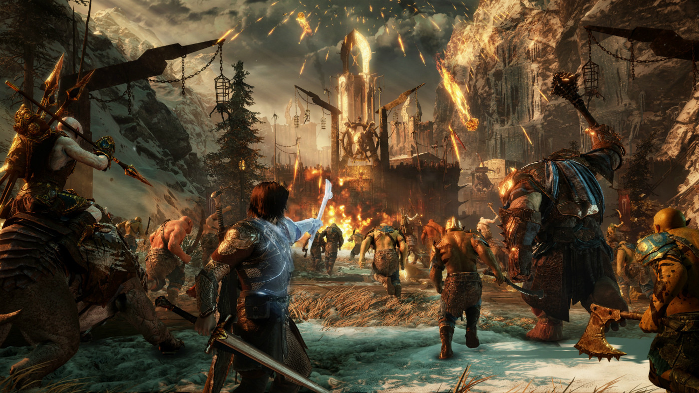 background - Shadow of War prezentuje kúsky príbehu a faunu Mordoru