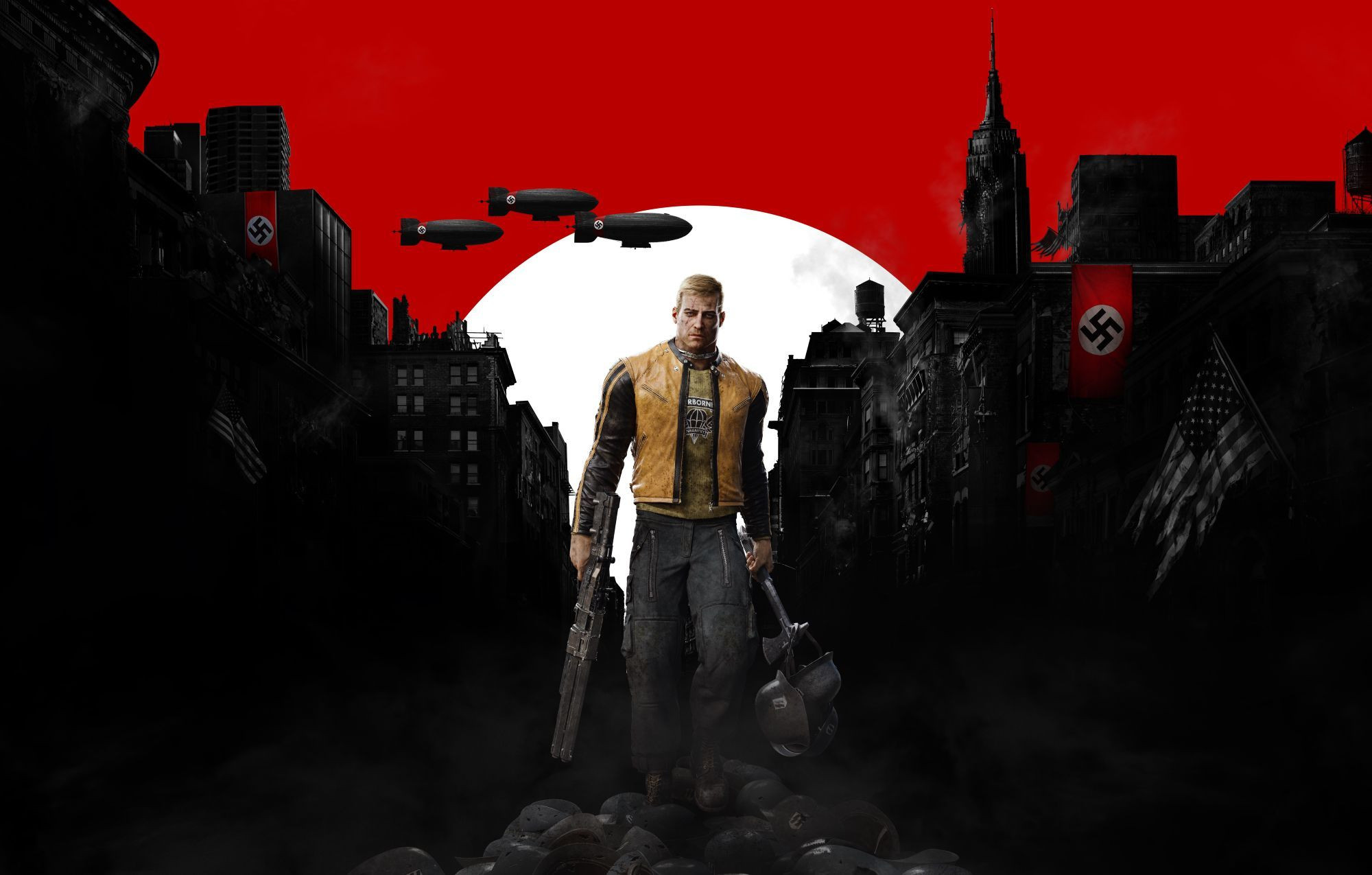 background - Ve Wolfenstein: The New Colossus se dočkáme samotného vůdce.
