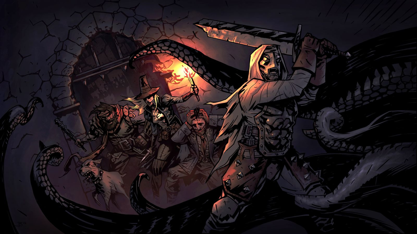 background - Odhalené nové DLC pre Darkest Dungeon s názvom The Color of Madness