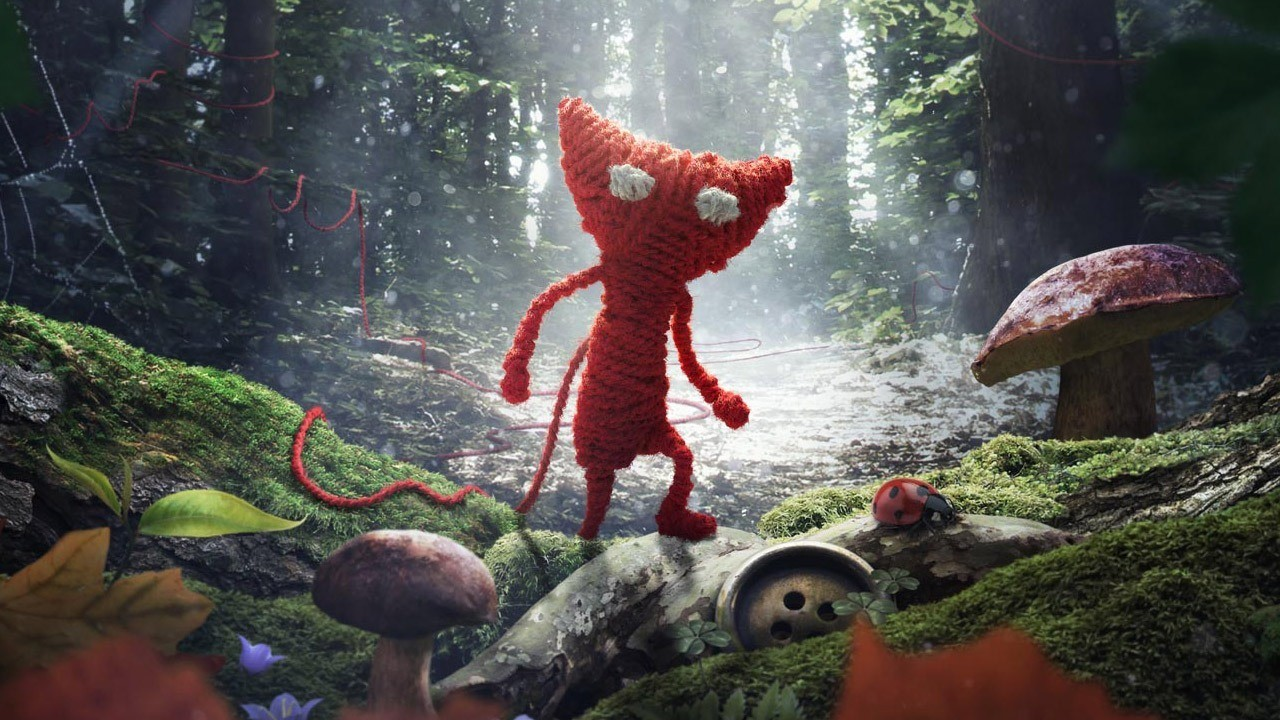 background - Puzzle plošinovka Unravel