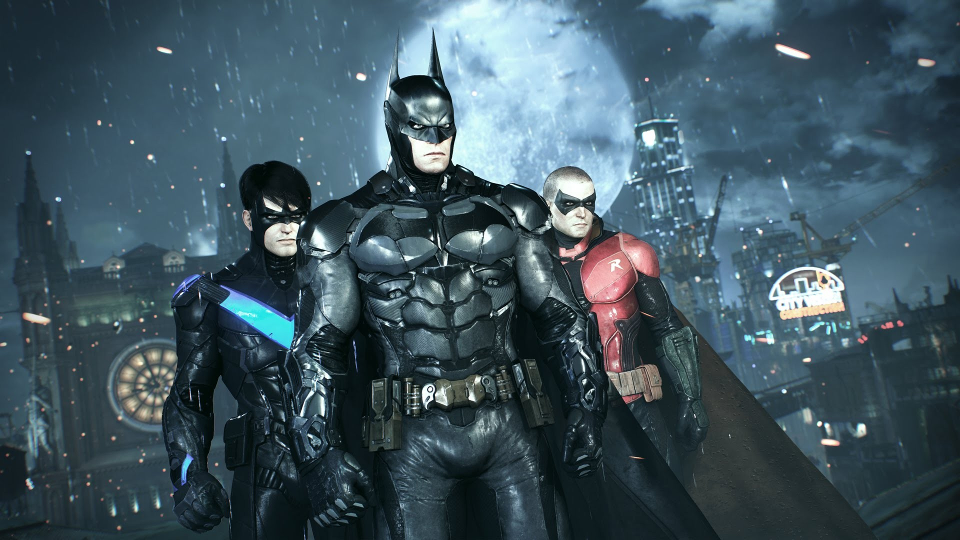 background - Problémy Batman: Arkham Knight