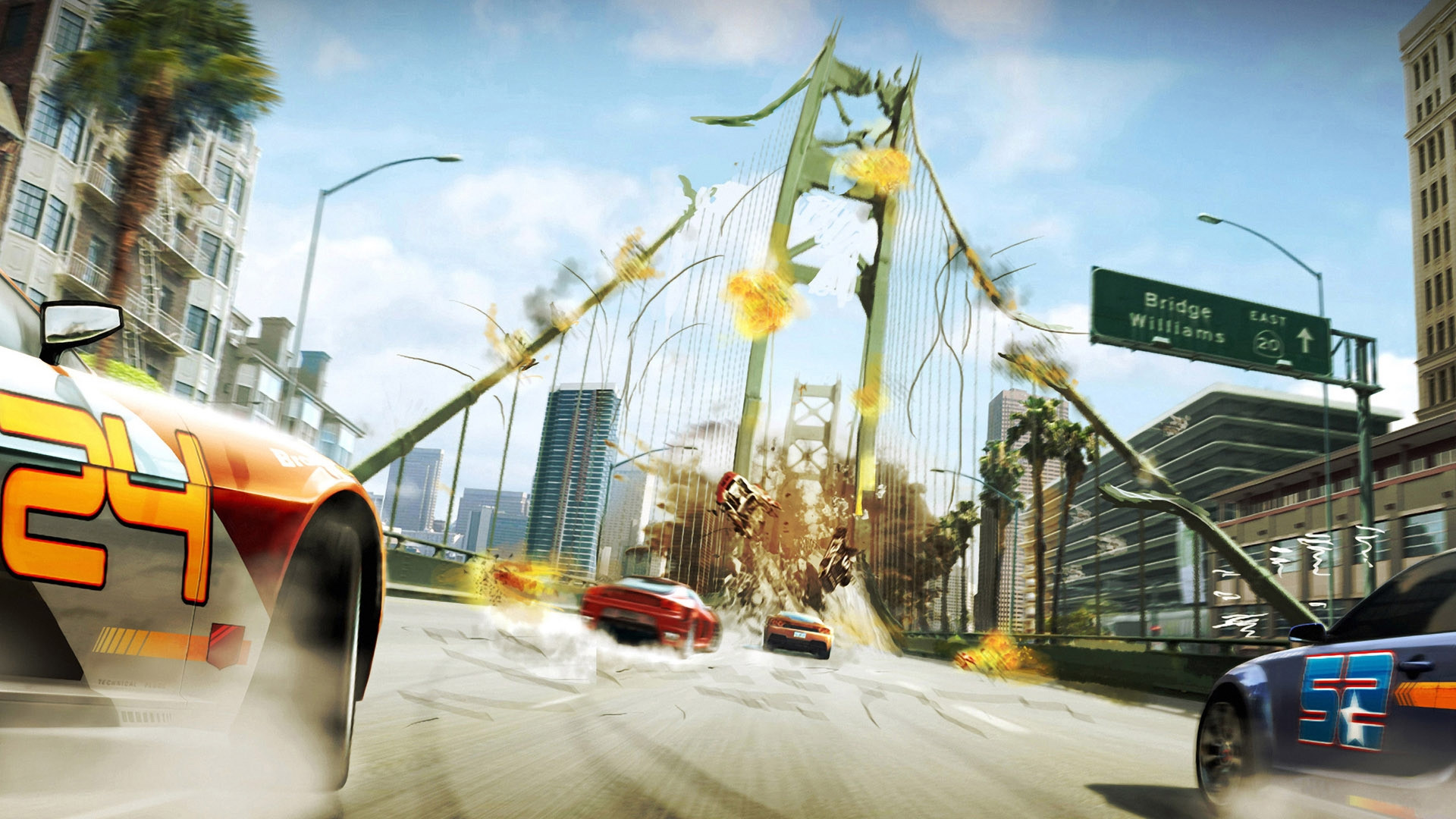 background - Burnout Paradise sa dočká remasteru!