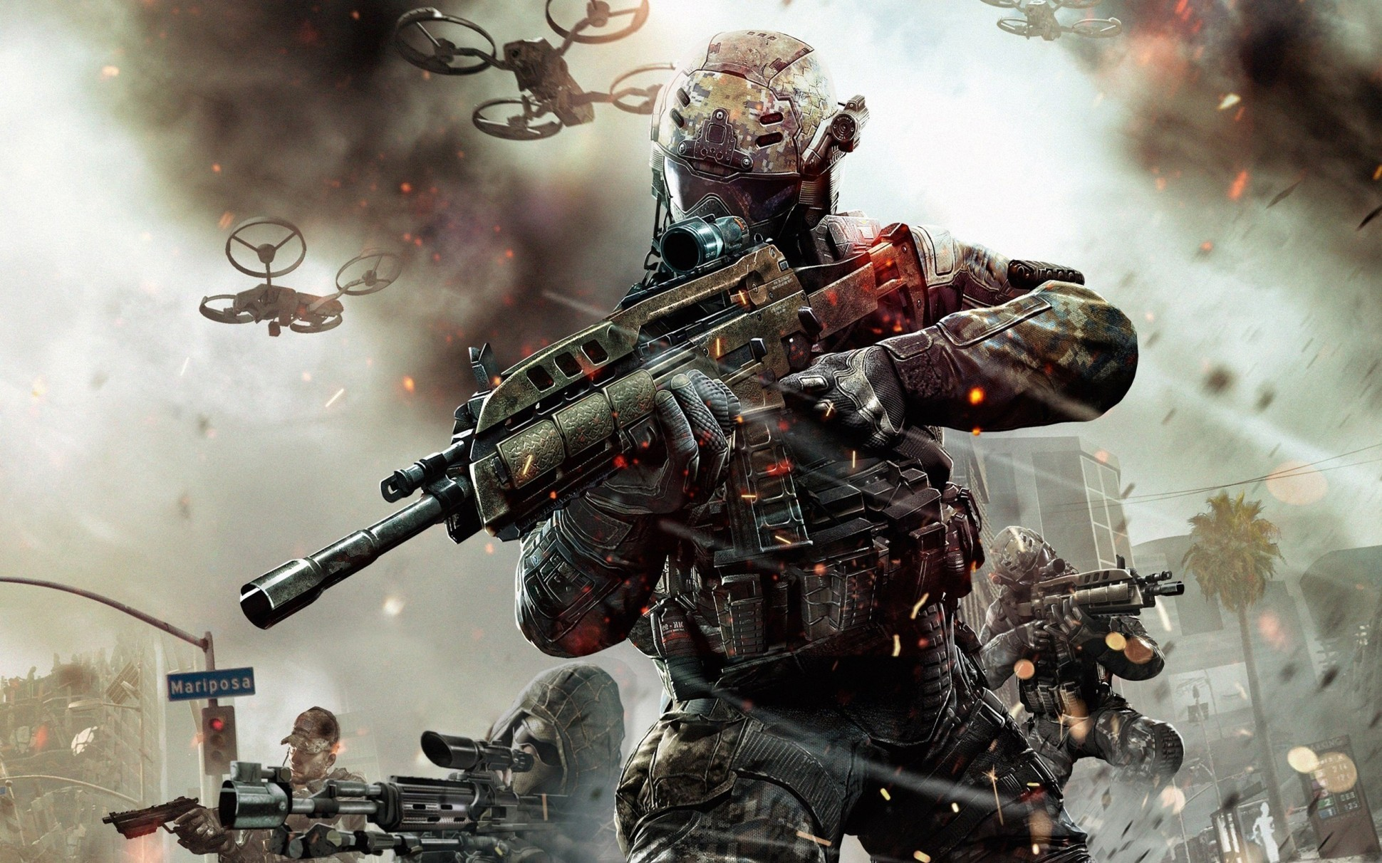 background - Call of Duty: Black Ops 3 Zombie mód