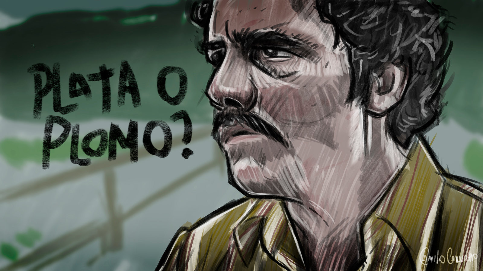 background - Hra Narcos?!