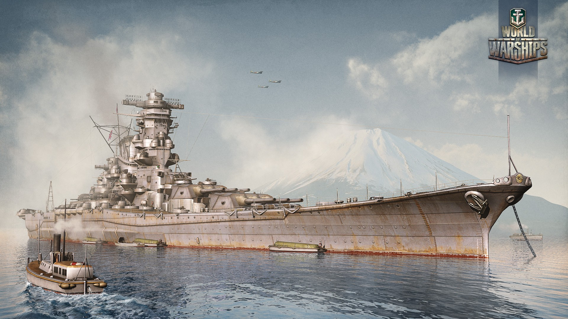 background - Vyzkoušejte open betu World of Warships