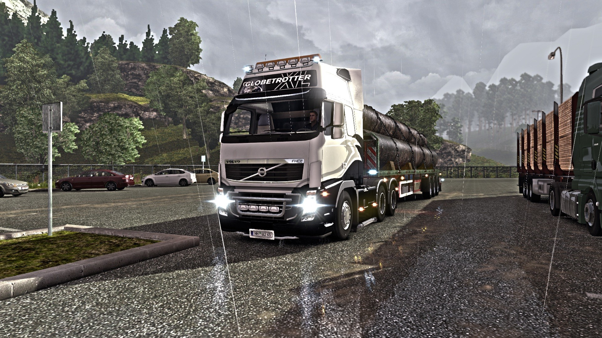 background - Nová města v Euro Truck Simulator 2
