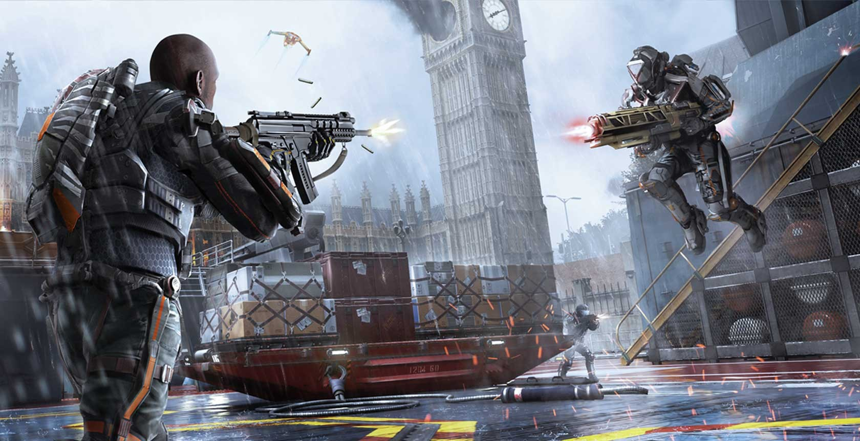 background - Poslední DLC pro Call of Duty: Advanced Warfare