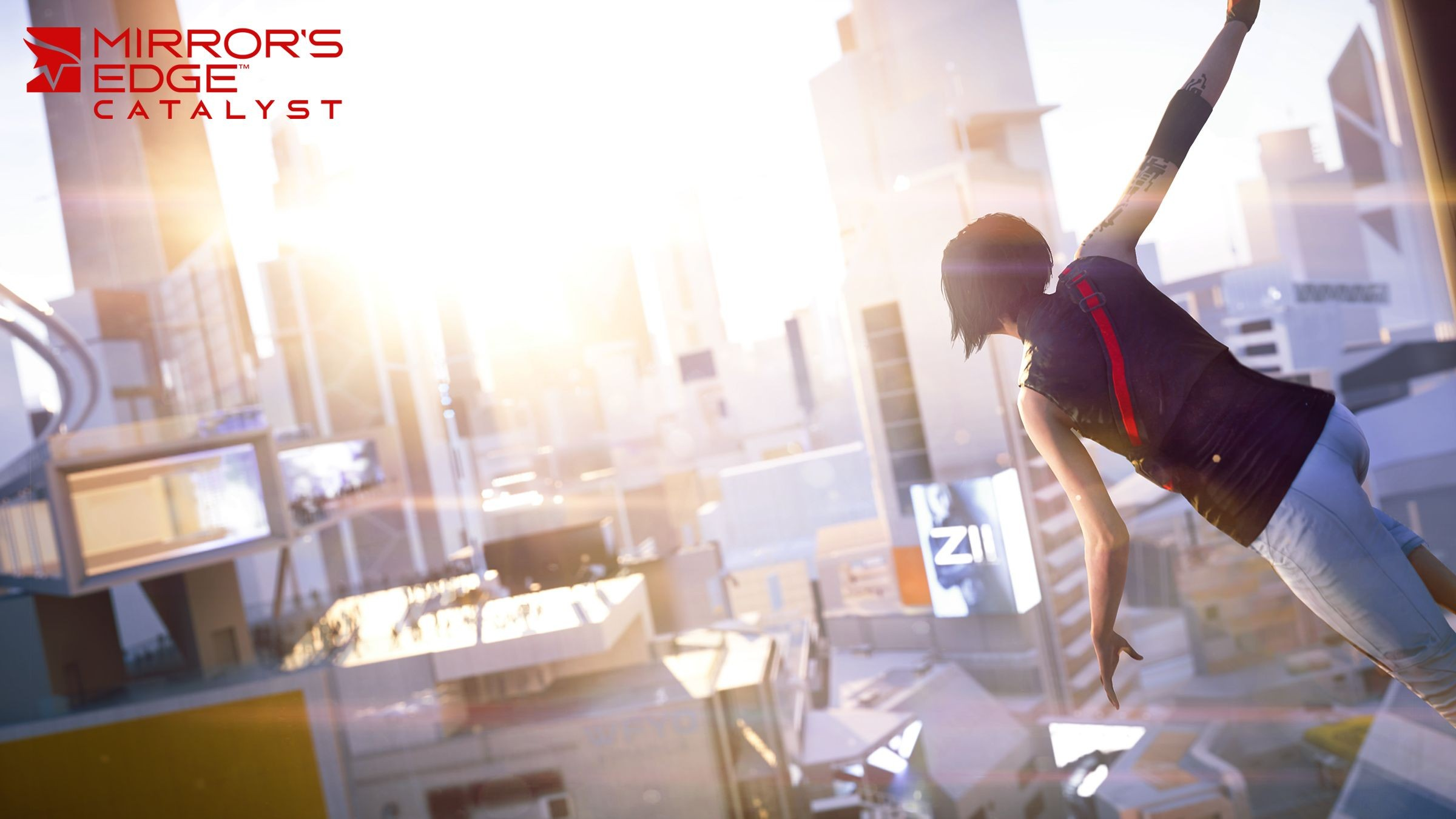 background - Gameplay trailer Mirror's Edge Catalyst