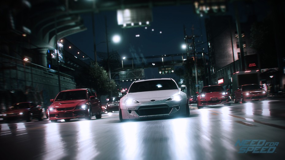 background - Gameplay z nového Need for Speed