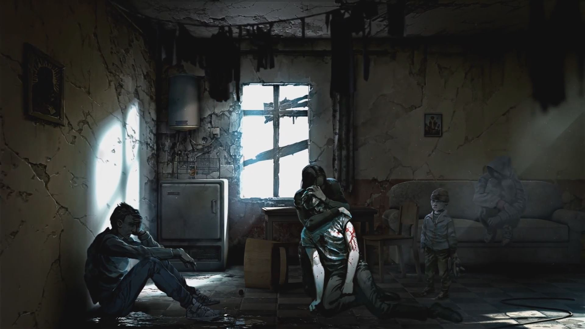 background - This War of Mine: The Little Ones !!