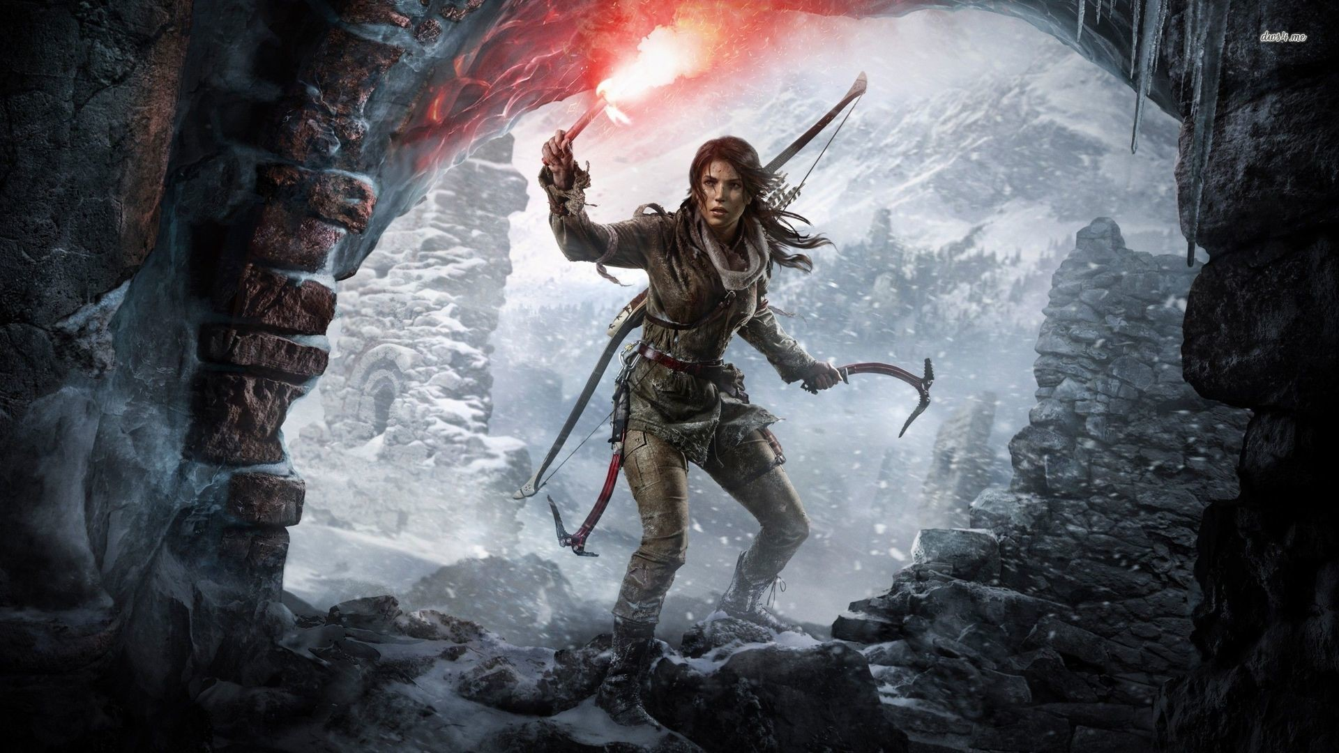 background - Čeština pro Rise of the Tomb Raider