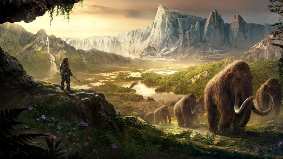 background - Far Cry Primal The Legend of the Mammoth's