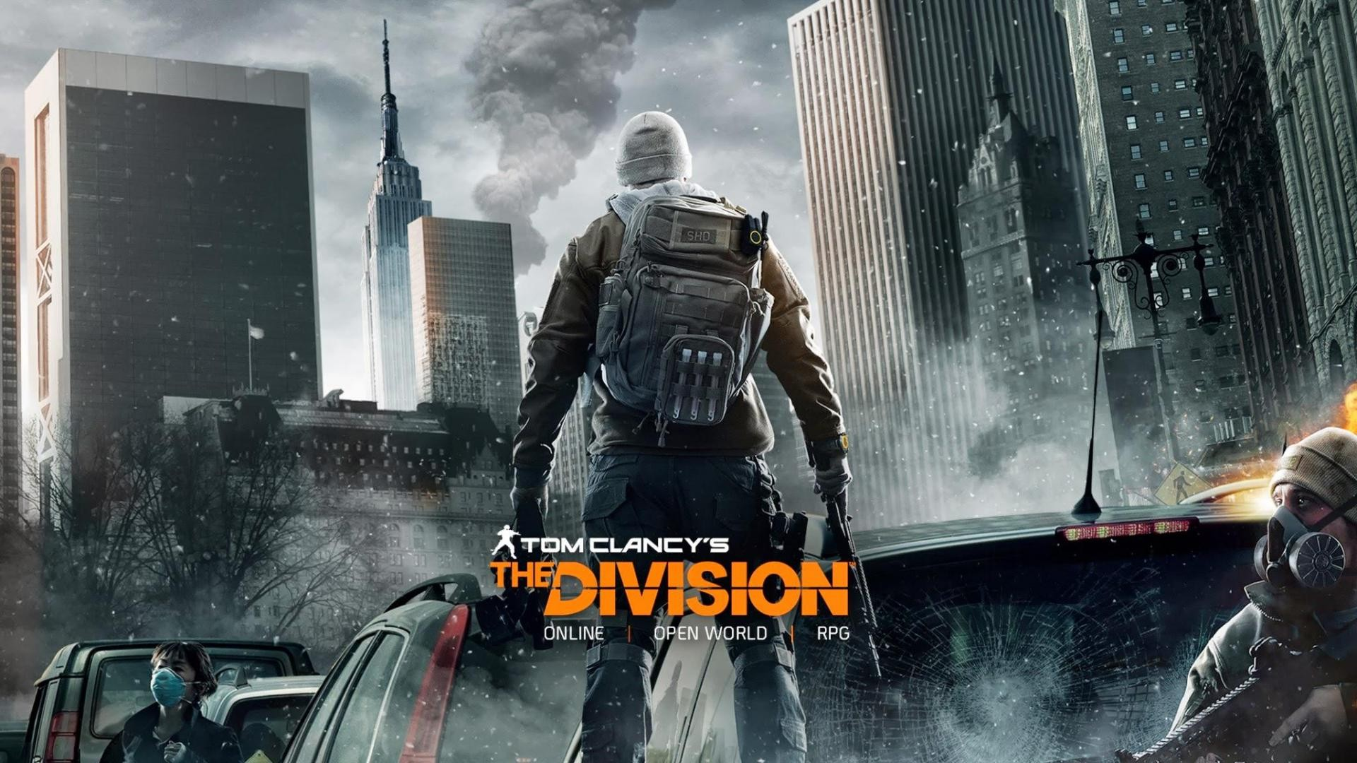 background - The Division láme rekordy
