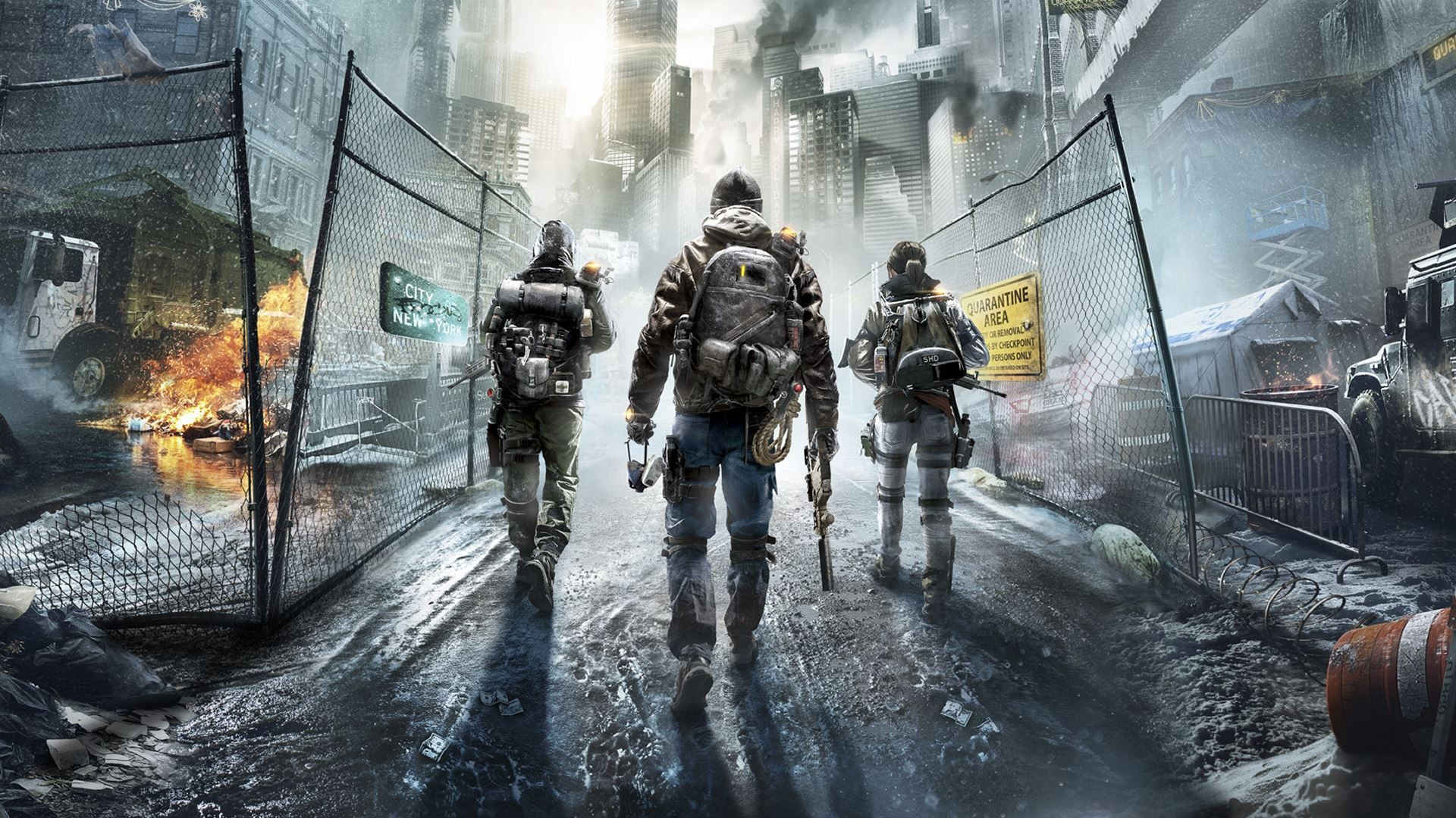 background - V The Division do Central Parku