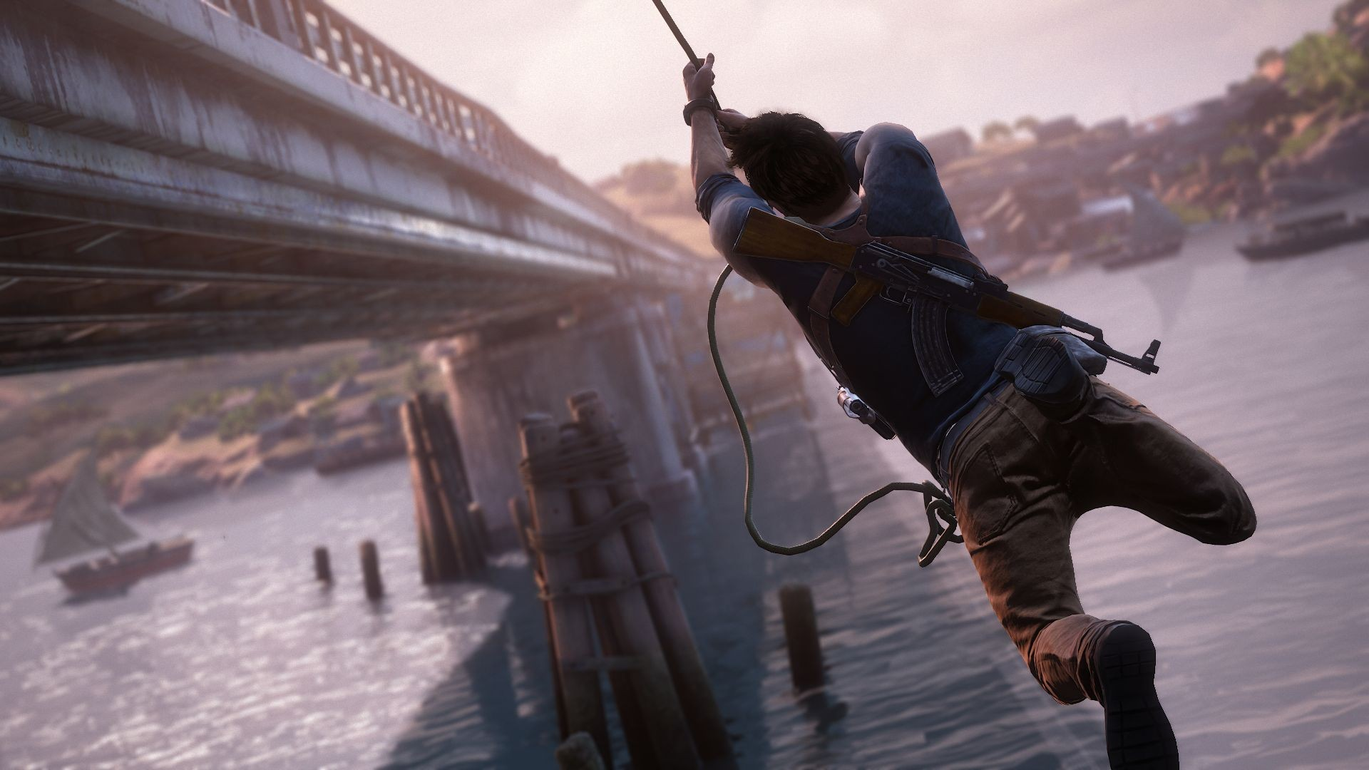 background - Uncharted 4 láme rekordy!