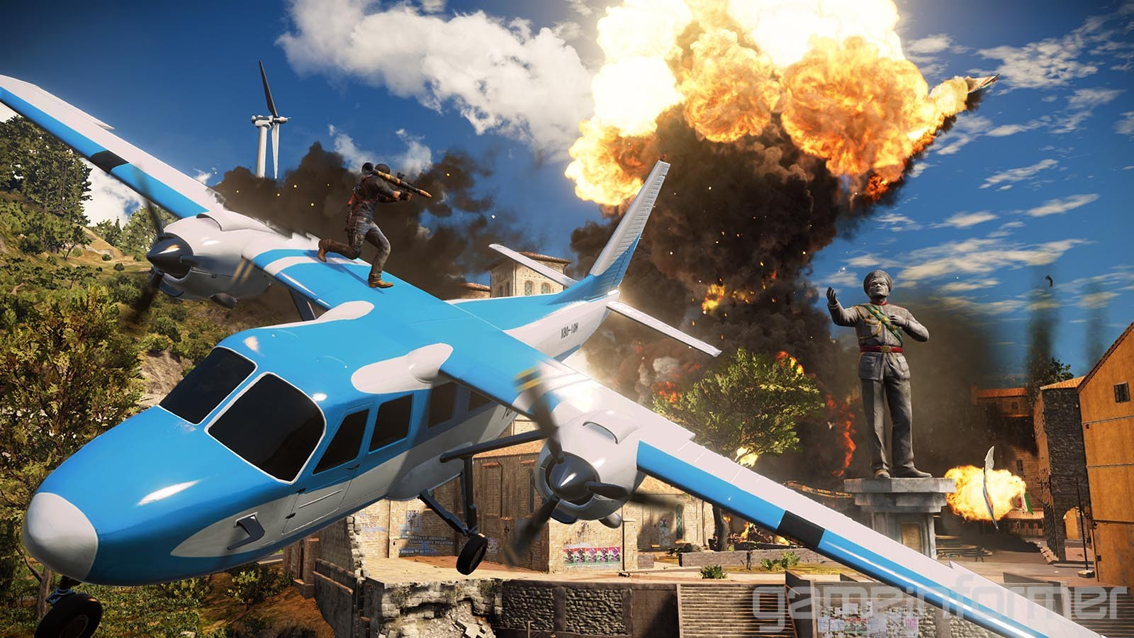 background - Just Cause 3 s novým gameplay trailerom!