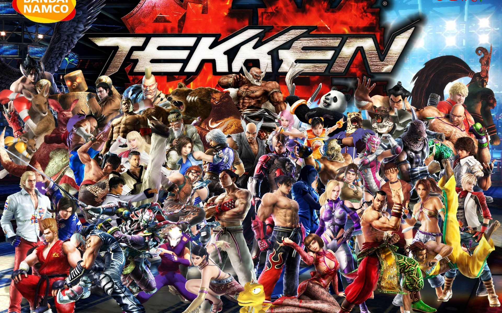 background - Tekken 7 na PS4, Xbox One a PC 2017