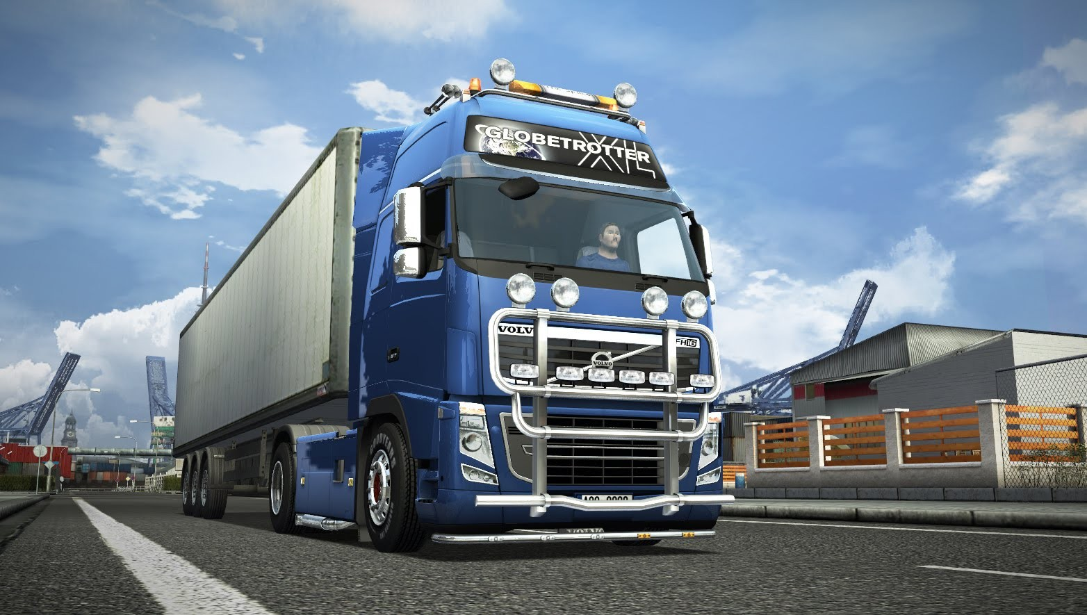 background - DLC Scandinavia pro Euro Truck Simulator 2