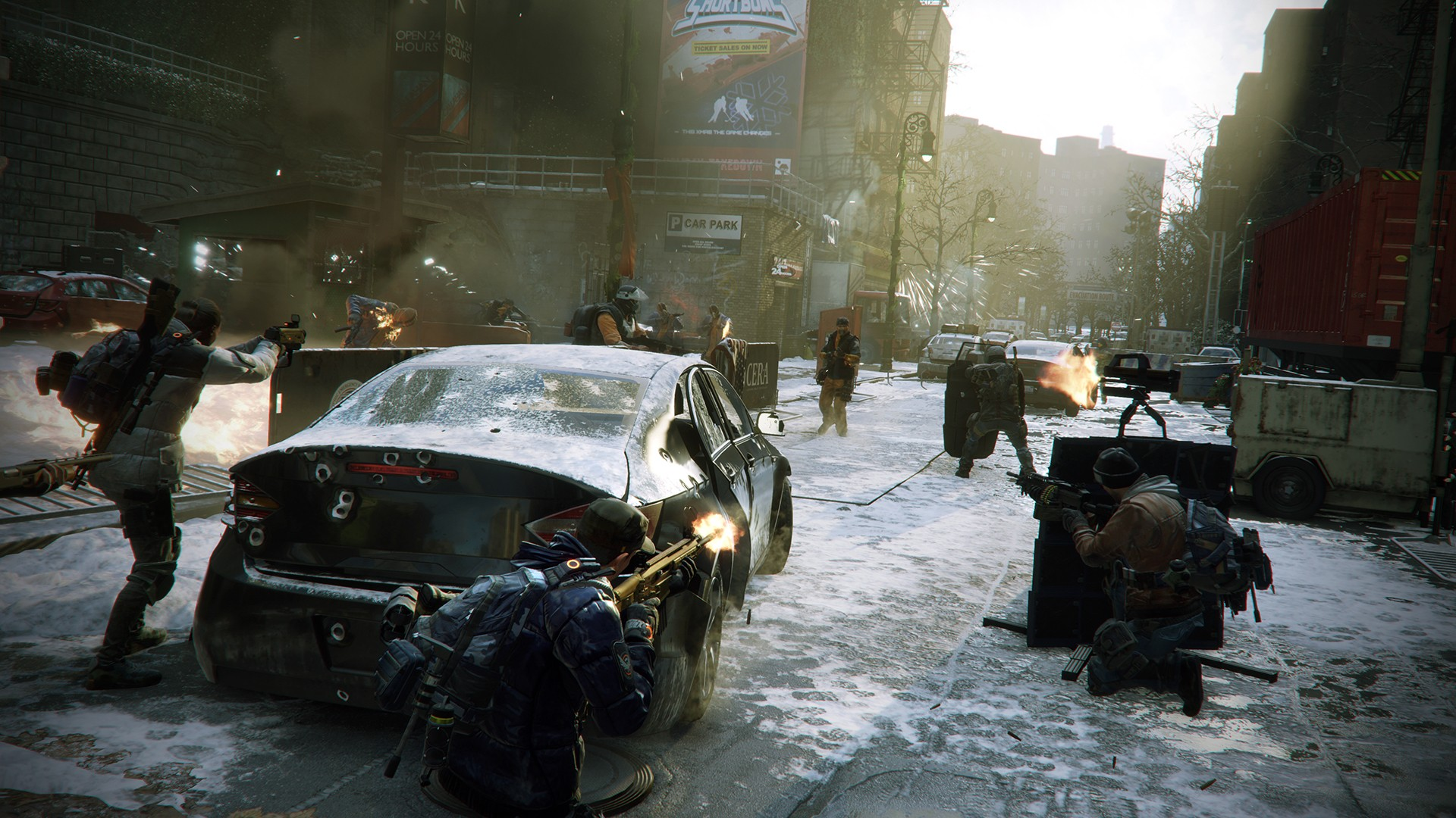 background - Tom Clancy's The Division FREE WEEKEND!