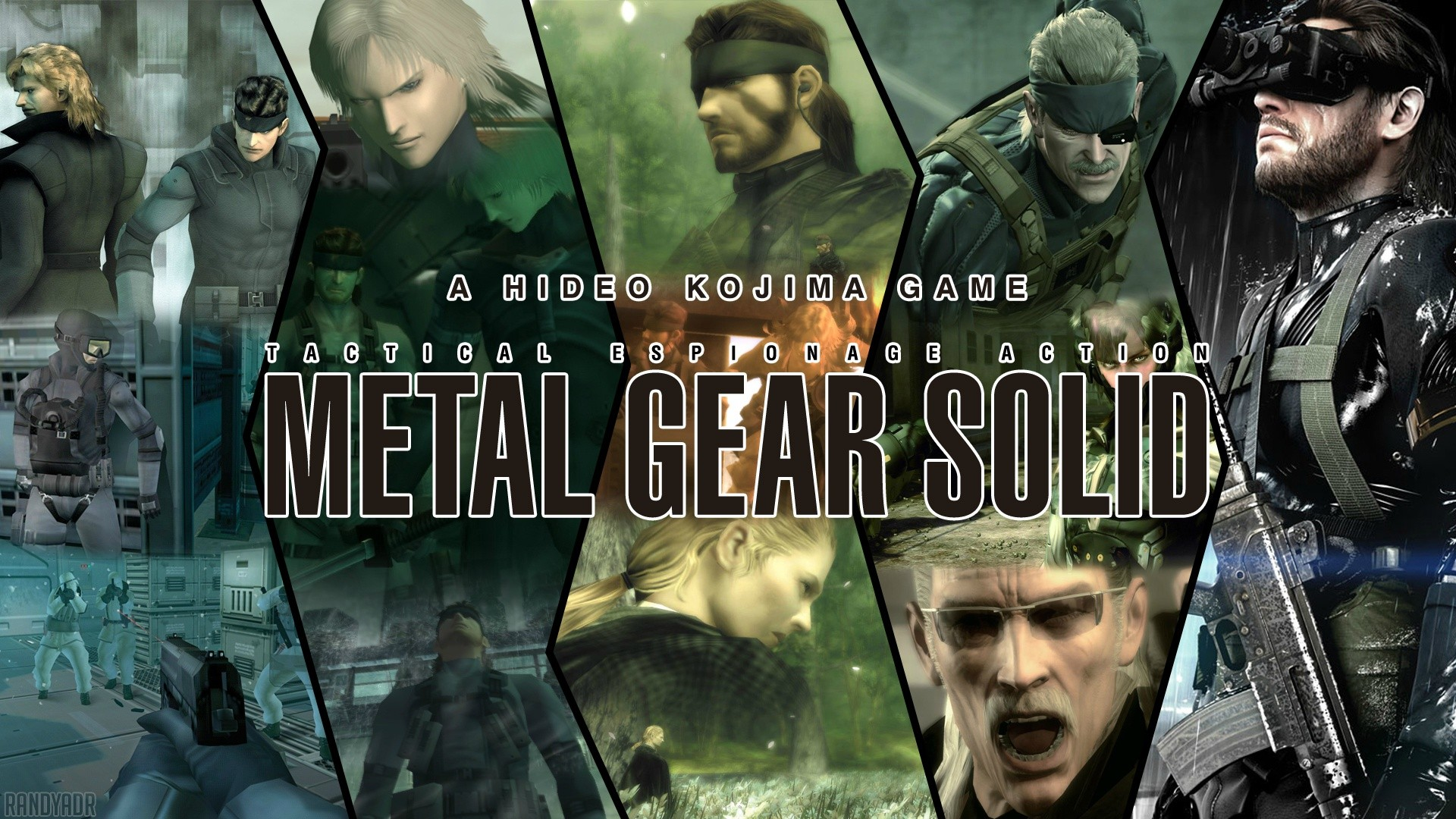 background - Metal Gear Solid V: The Phantom Pain v podaní Brazzers