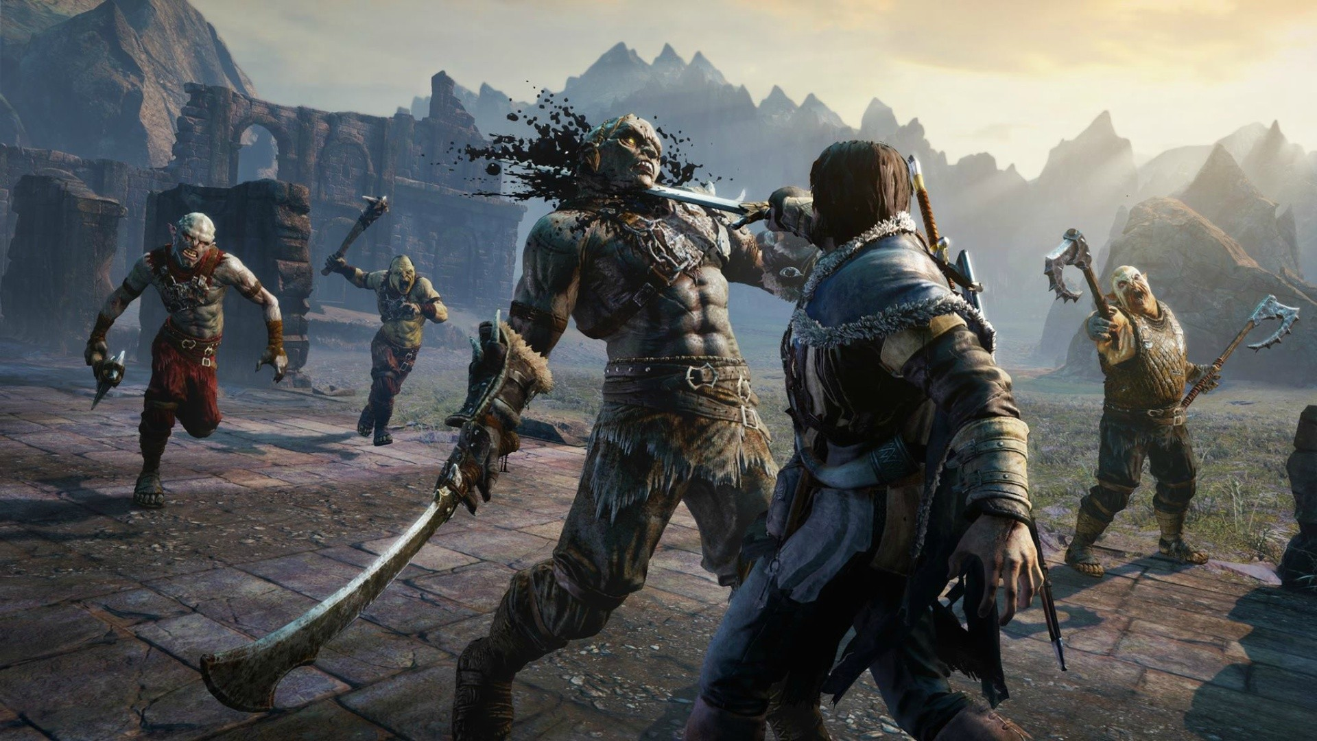 background - Oficiálne predstavený Shadow of War od WB Games je tu