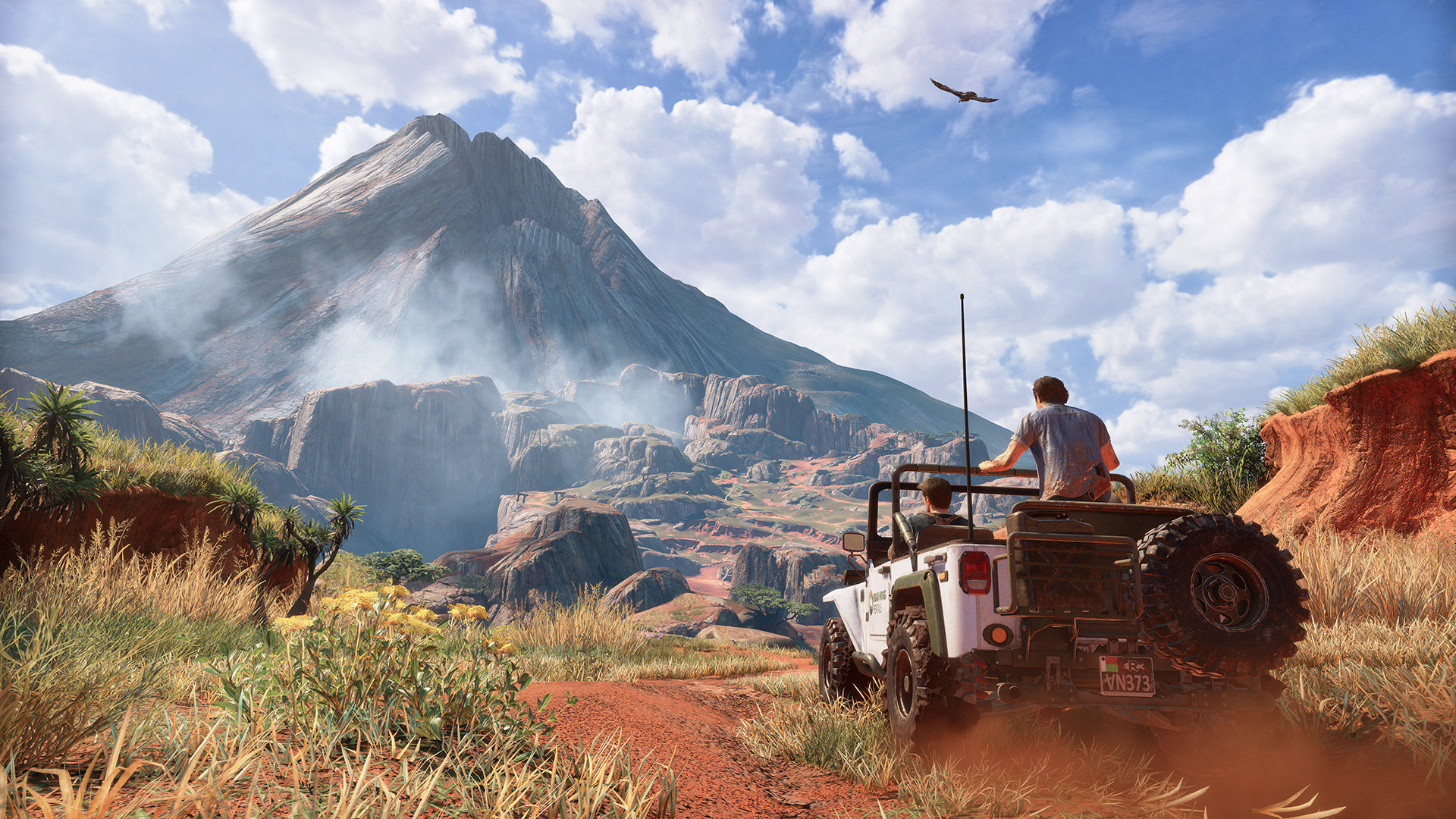 background - Ohlédnutí za genialitou Uncharted 4