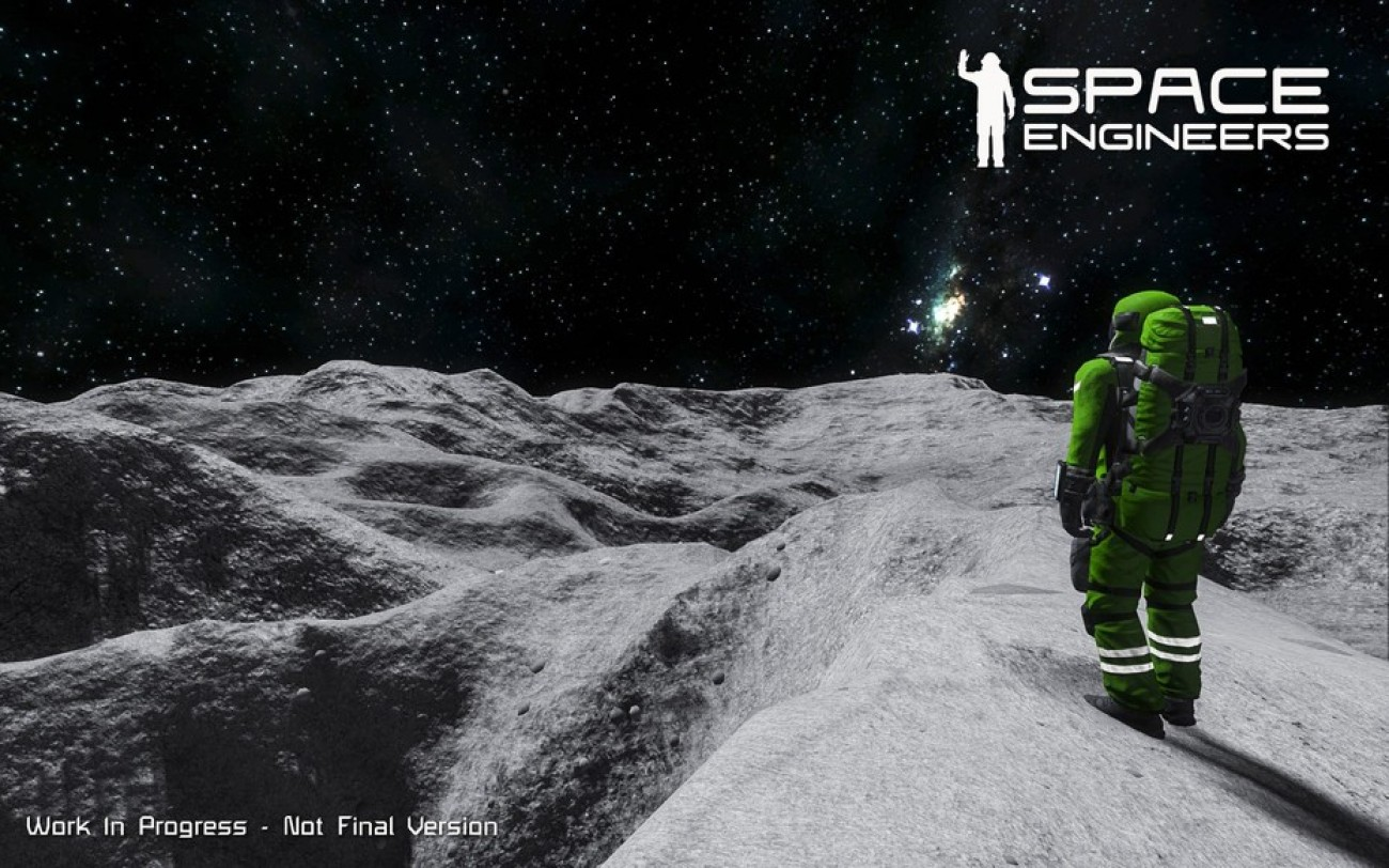 Planety v novém updatu Space Engineers