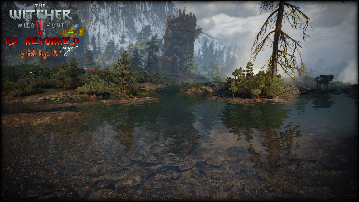 The Witcher 3 HD reworked update 4.8
