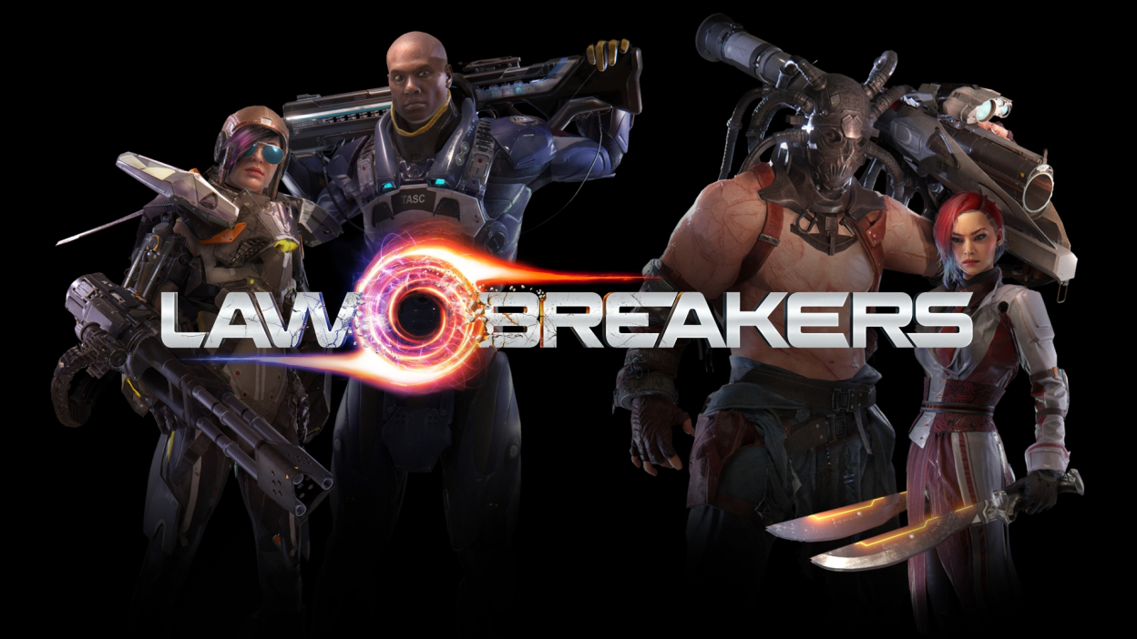 LawBreakers padlo!
