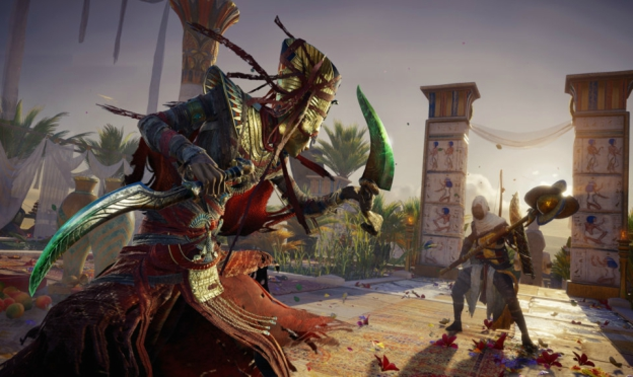 DLC The Curse of the Pharaoh's pre AC: Origins je vonku