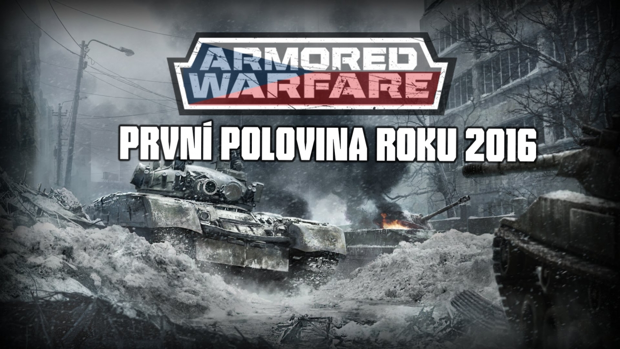 Česká technika v Armored Warfare