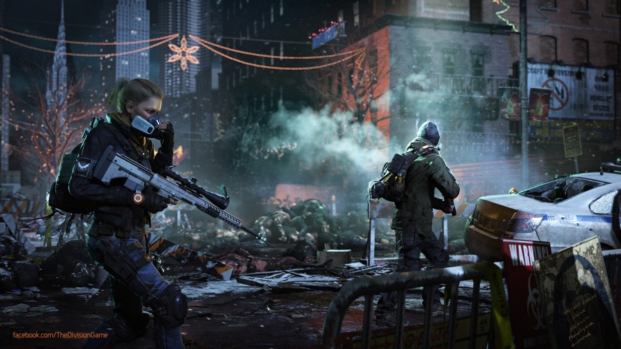 Vychází patch a DLC do Tom Clancy´s The Division