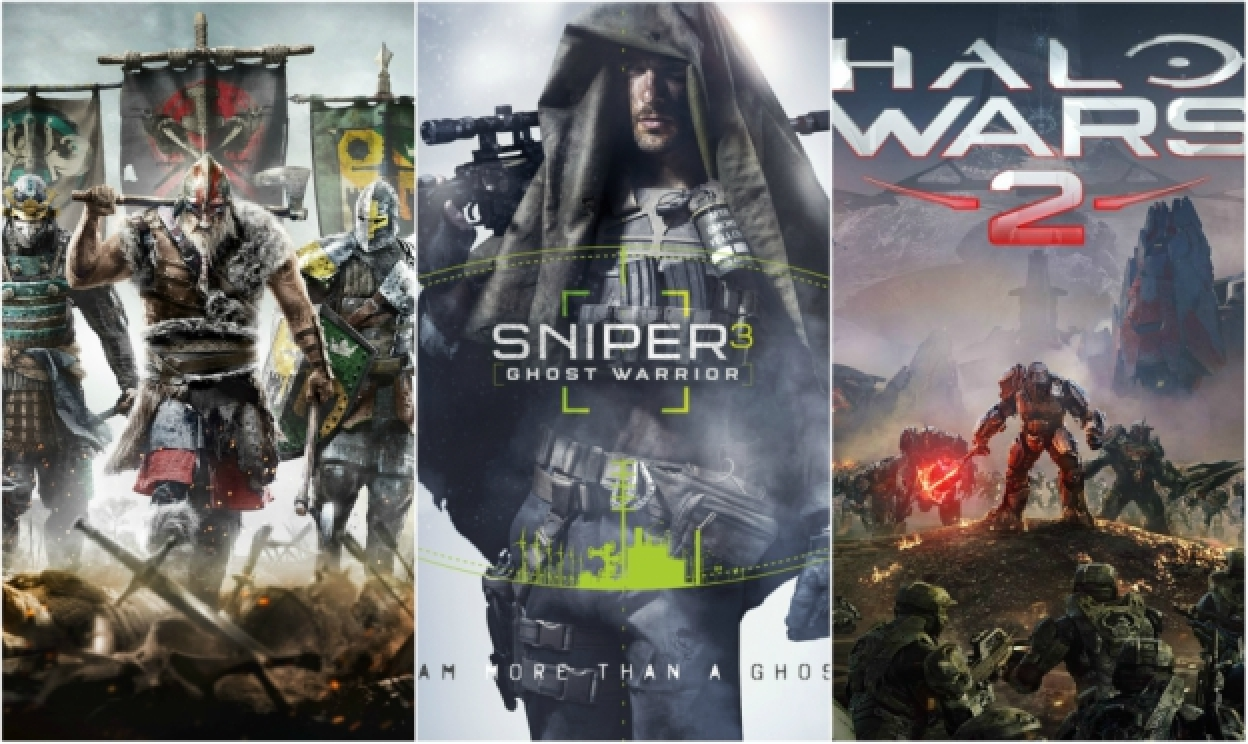 HW požiadavky pre For Honor, Sniper: Ghost Warrior 3 a Halo Wars 2!
