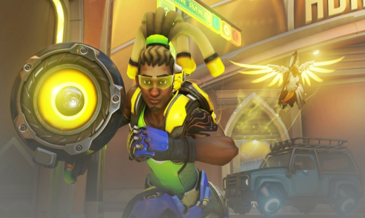 Z Overwatch do Heroes of the Storm: Lucio